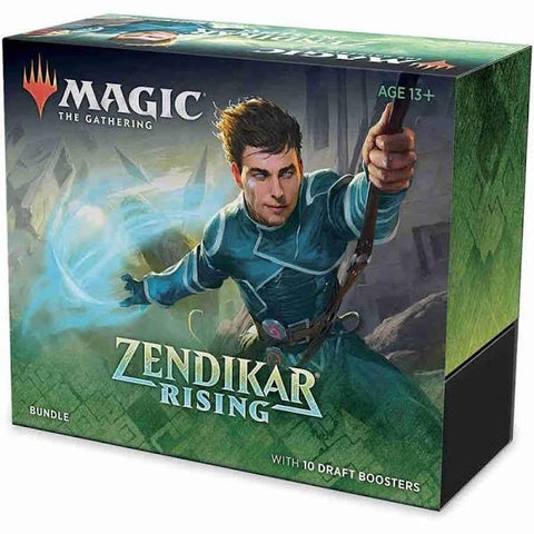 Magic The Gathering Zendikar Rising Draft Boosters