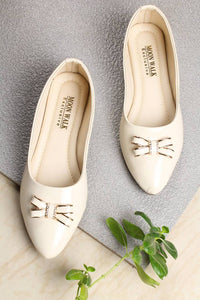 Women's Synthetic Beige Bellies