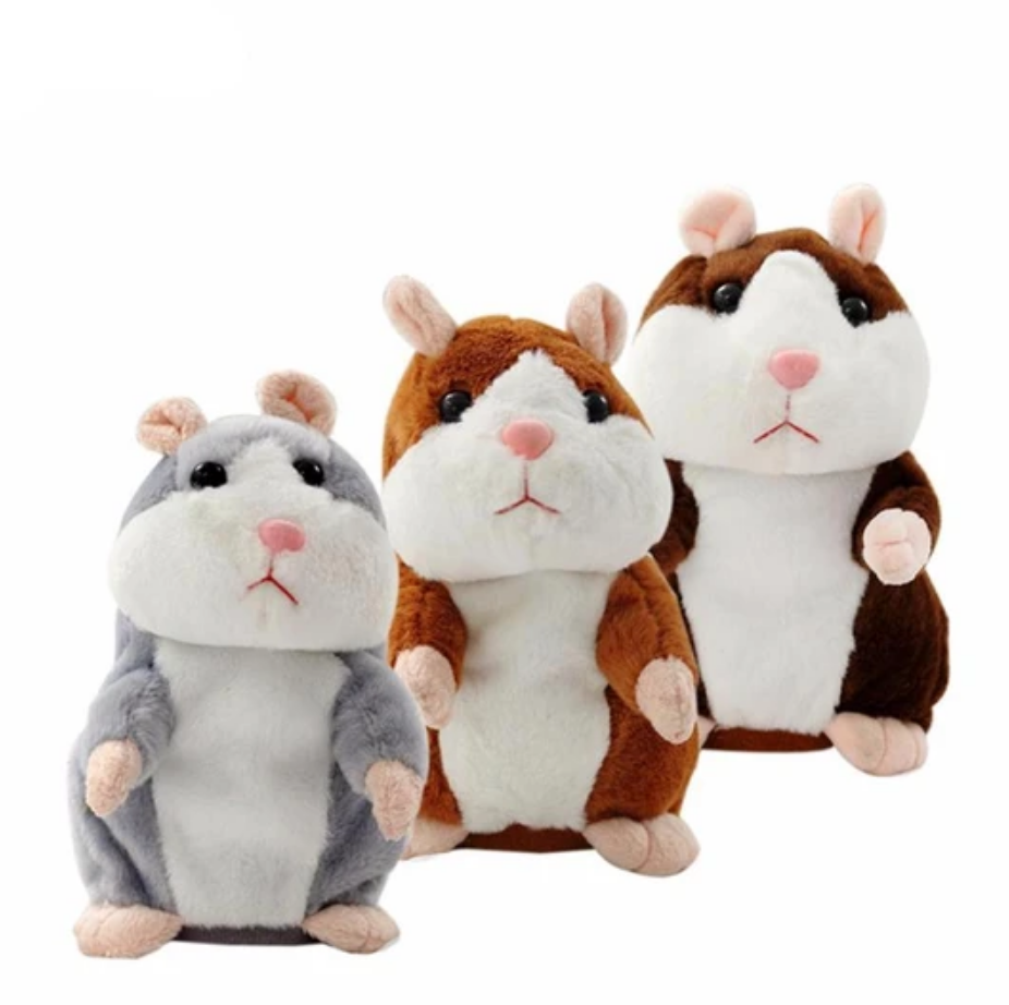 Copy Me Funny Talking Hamster WITHOUT NODDING