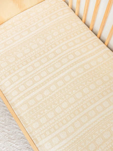 Fitted Cotsheet (Organic Cotton + Bamboo)