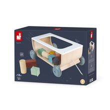 Load image into Gallery viewer, (Preorder) SWEET COCOON Cart with Blocks (Pull Cart)