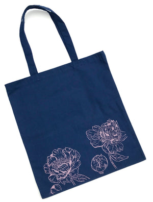 Load image into Gallery viewer, Peonies Tote