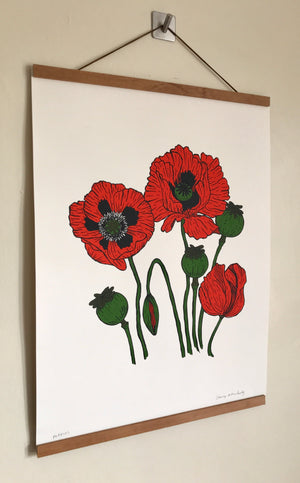 Load image into Gallery viewer, Poppies Print