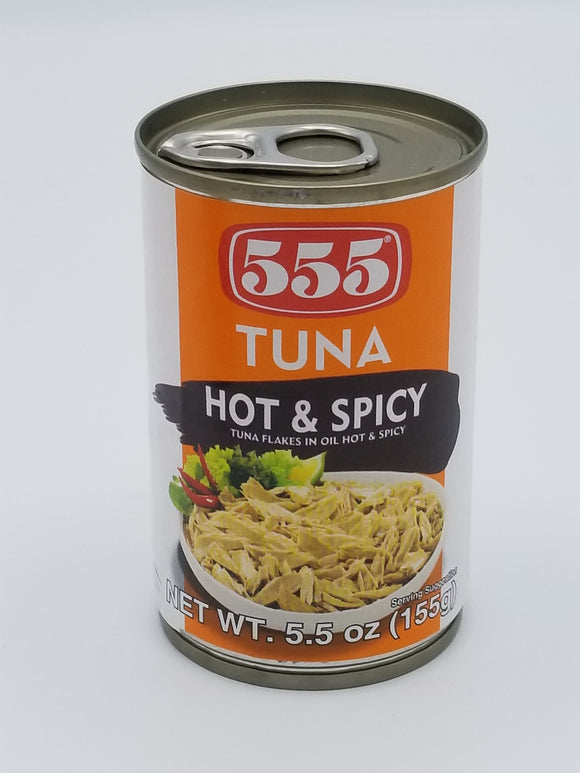 555 Tuna Flakes Hot & Spicy 555