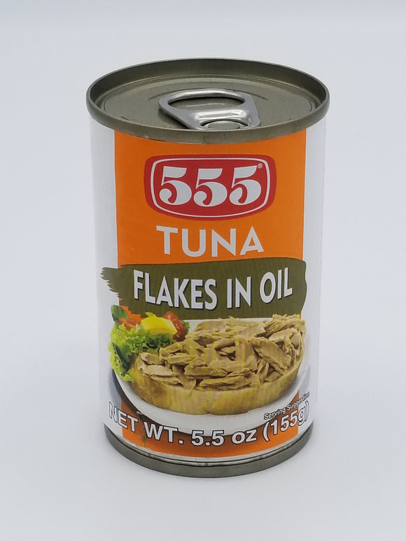 555 Tuna Flakes In Vegetable Oil 555