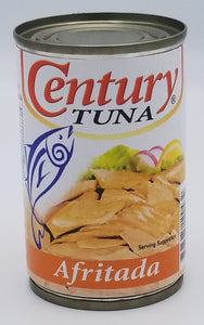 Century Tuna Afritada Small Can Philippine Food Corp Chicago