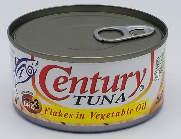Century Tuna Flakes in Vegetable Oil Philippine Food Corp Chicago