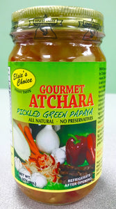 Elsies Choice Gourmet Atchara ( Pickled Green Papaya ) - 16 oz Elsies Choice