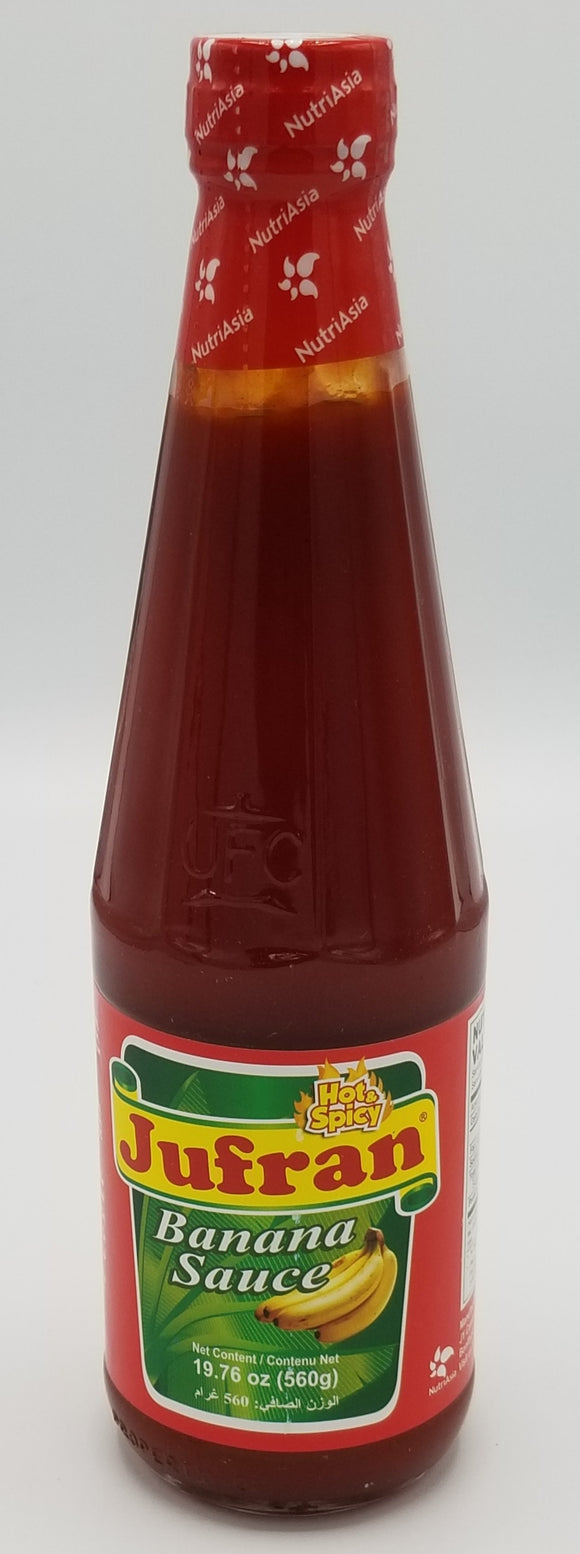 Jufran Banana Ketchup Hot Big Jufran