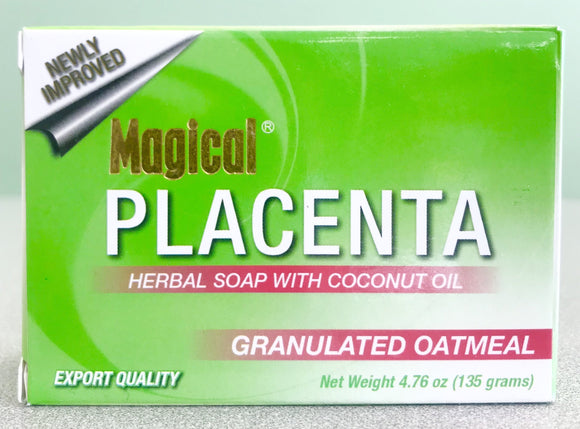 Magical Placenta Soap Oatmeal Magical placenta