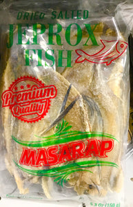 Masarap Premium Quality Dried Jefrox Fish - 5.3 oz Masarap