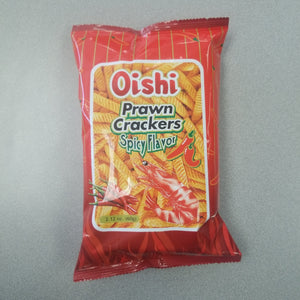 Oishi Prawn Cracker Spicy - 2.11 oz Oishi