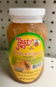 Tasty Joy Papaya Pickles Tasty Joy