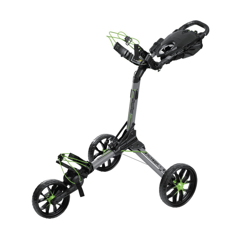 Nitron Auto-Open Push Cart 3-Wheel