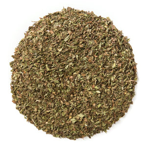 Organic spearmint leaf for aniti androgen, helps reduce testosterone level for women. Clears acne, and unwanted hair growth caused by hormonal imbalance.
