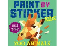 Load image into Gallery viewer, Paint by Sticker Kids: Zoo Animals
