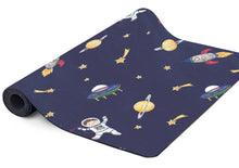 Load image into Gallery viewer, Space themed kids yoga mat.