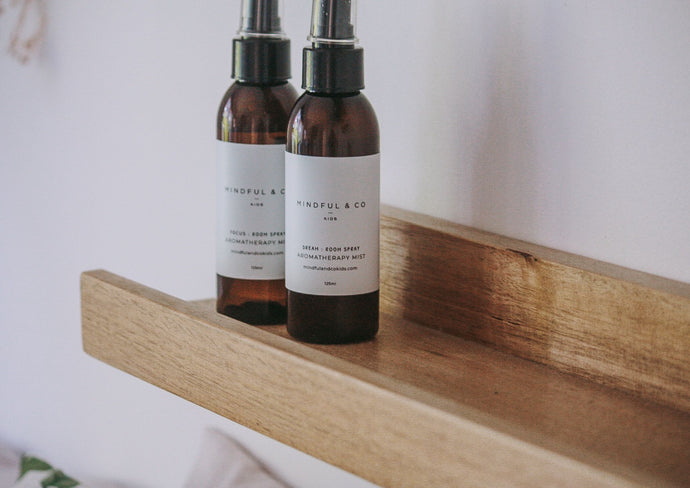 Focus aromatherapy mist and dream aromatherapy mist