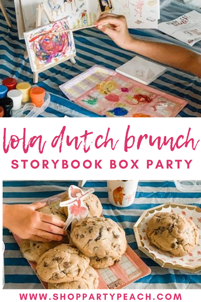 Our Lola Dutch Brunch Storybook Box Party!