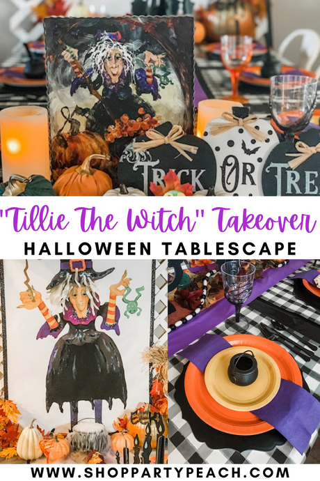 Tillie the Witch Dining Room Takeover!