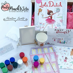 "Lola Dutch Inspired - ""Paint Like A Great"" Activity Kit"