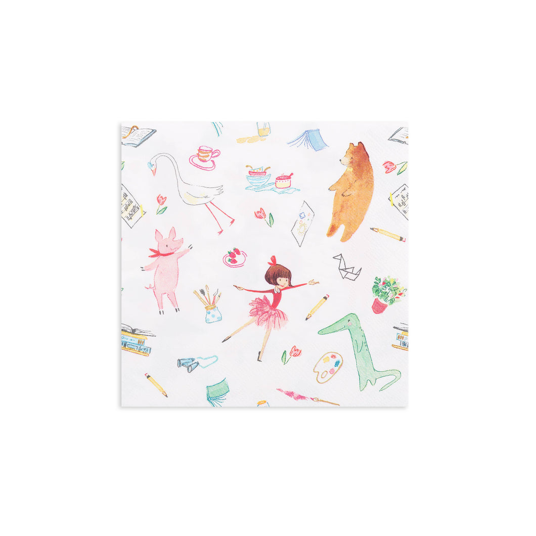 Lola Dutch & Friends Large Napkins