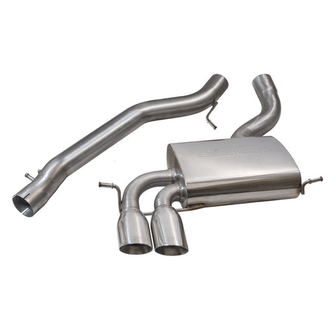 Cobra Non-resonated Cat-back Performance Exhaust - AU07
