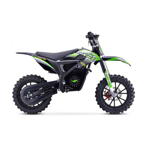Wired Neon Green Mini Dirt Bike