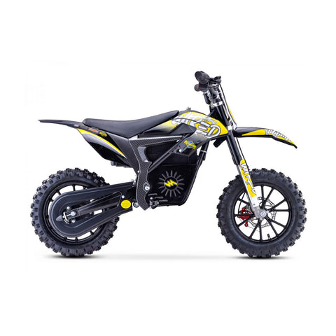 Wired Neon Yellow Mini Dirt Bike
