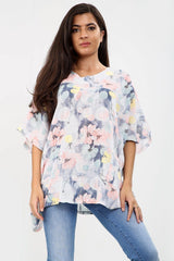 Floral One Pocket Top