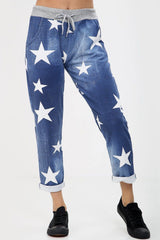 Star Denim Stretch Joggers