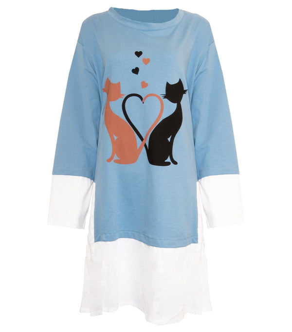 Cat Love Tunic - Envy Manchester
