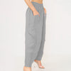 Linen Pockets Design Wide Leg Trouser