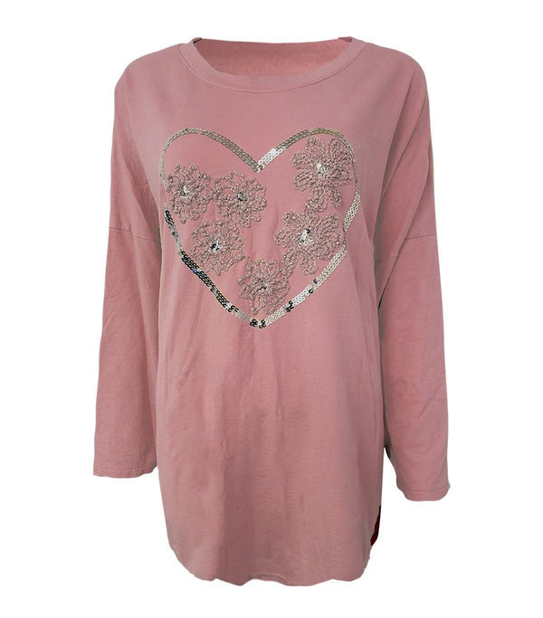 Heart Embroidery Tunic - Envy Manchester