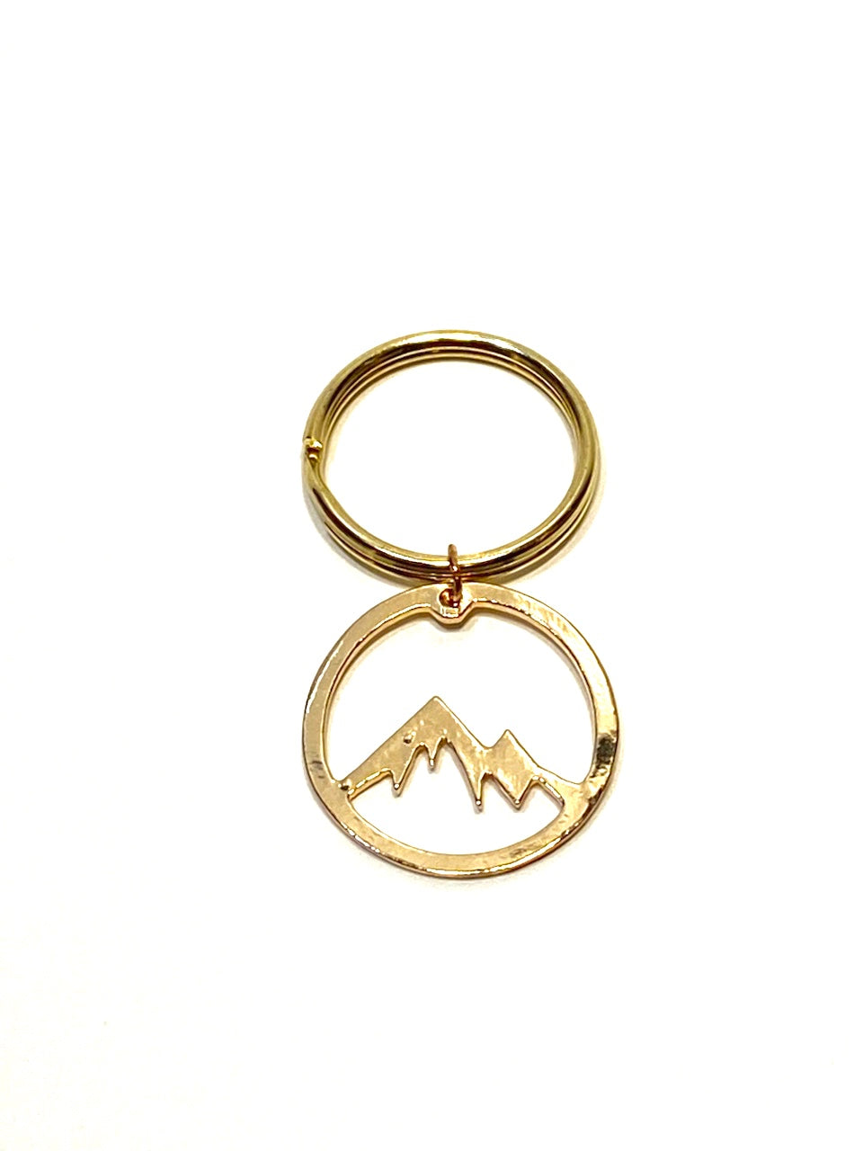 Gold Mountain Keychain