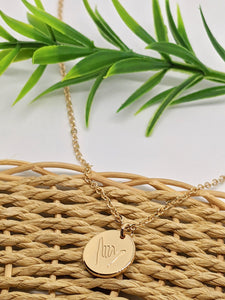 Hang Loose Necklace