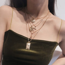 Load image into Gallery viewer, Gold Layered Pendant Necklace