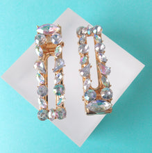 Load image into Gallery viewer, Crystal Jewelled Hair Clip Set