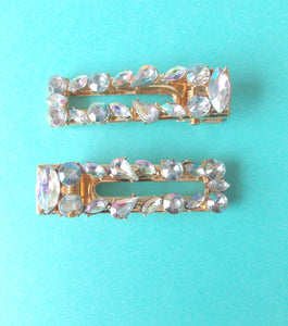 Crystal Jewelled Hair Clip Set