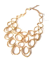 Load image into Gallery viewer, Gold Statement Necklace