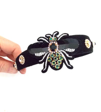 Load image into Gallery viewer, Black Sequin Bug Headband
