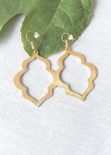 Load image into Gallery viewer, Gold Morocco Earrings