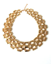 Load image into Gallery viewer, Gold Collar Style Necklace