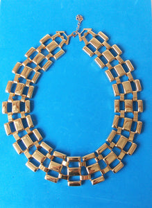 Gold Collar Style Necklace