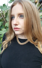 Load image into Gallery viewer, Chunky Gold Chain Necklace