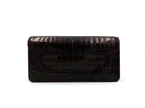 MIA DARK BORDEAUX MINI CLUTCH