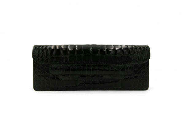 MINA BLACK OVERSIZE CLUTCH