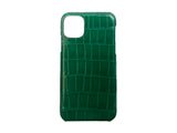 IPHONE 11 PRO MAX  GREEN CROCODILE