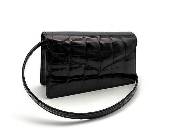 JOY SHINY BLACK MINI BAG