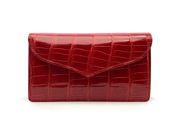 JOY SHINY RED MINI BAG